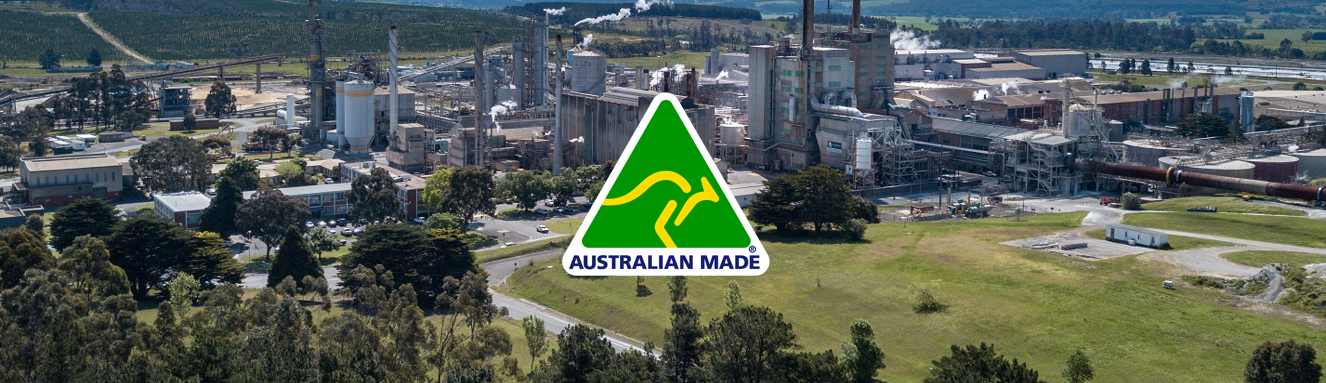 Australian Made logo and Maryvale Mill
